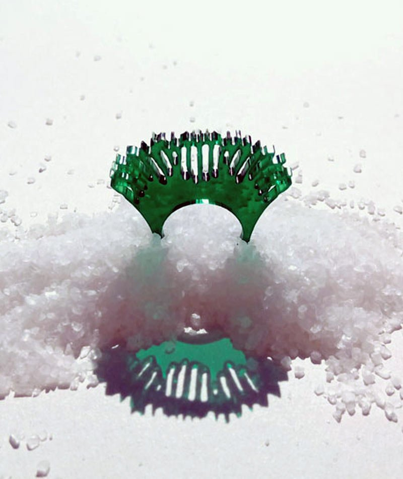 anillo metacrilato reciclado