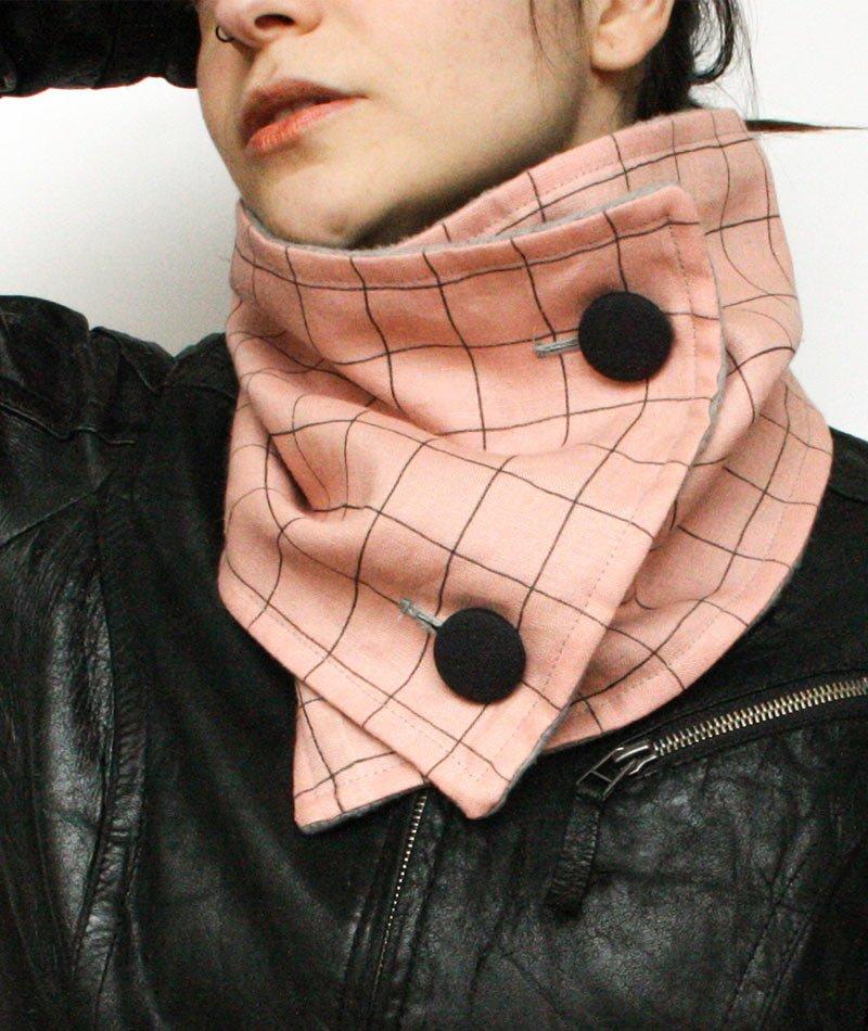 cuello-lino-melocoton-rosa