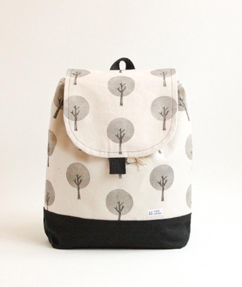 mochila algodón natural