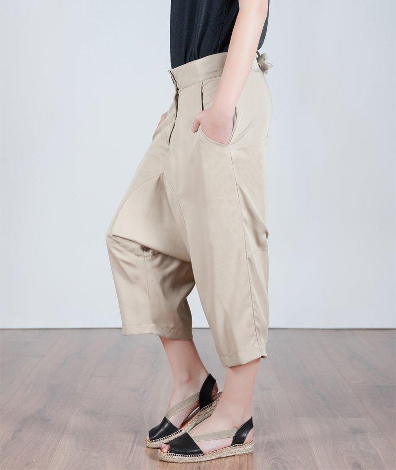 pantalón cómodo y fresco de tencel sister dew