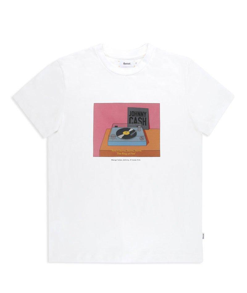 camiseta algodón orgánico Johnny Cash
