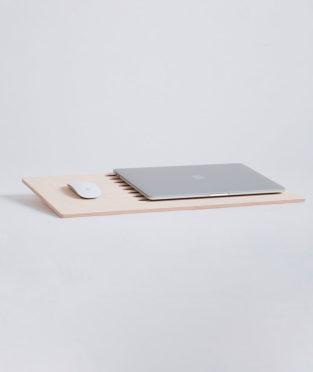 soporte para portátil de madera