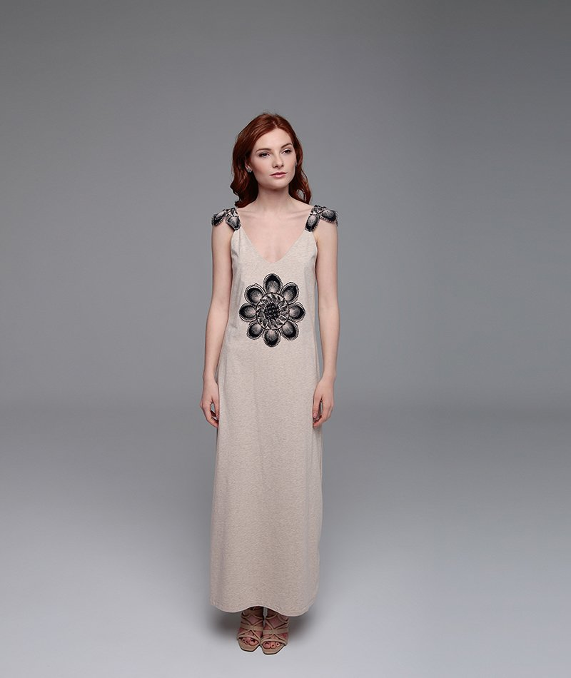 vestido ecológico bordado mammisi