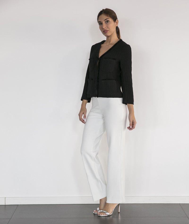 chaqueta algodón y lino orgánico alolola