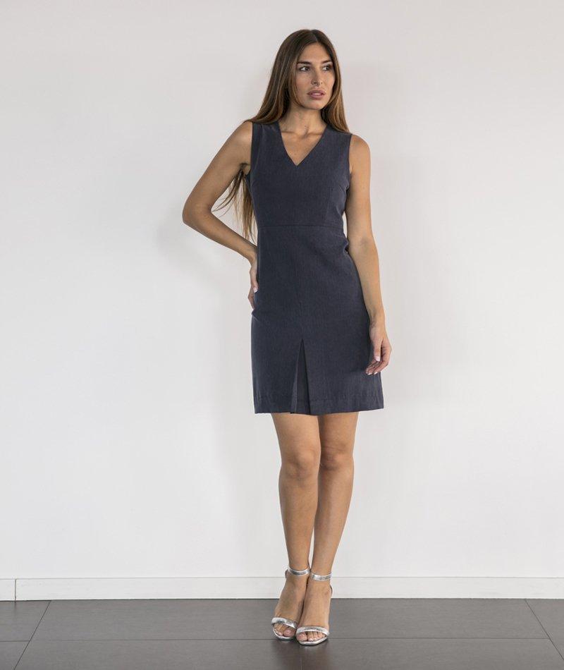 vestido básico sostenible alolola