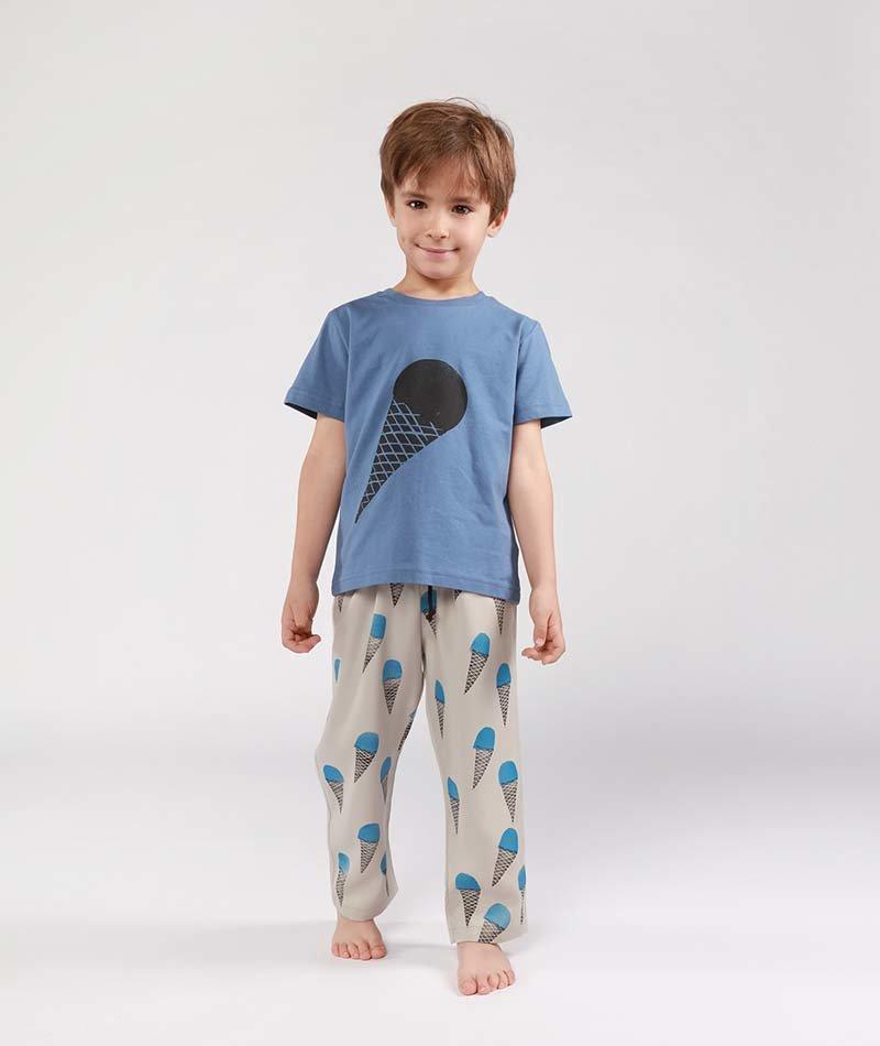 camiseta infantil algodón ecológico