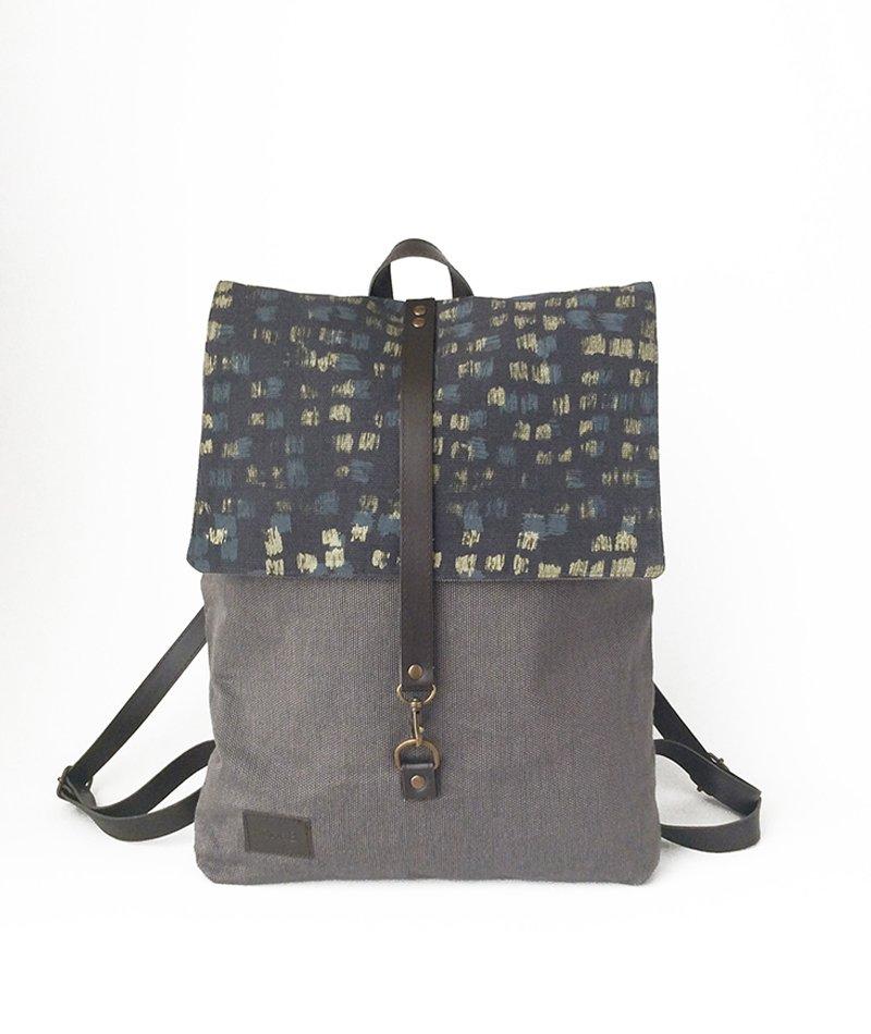 mochila algodón ecológico