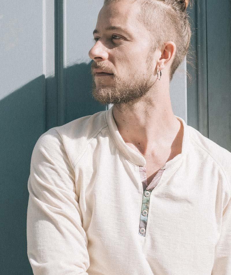camisa mao ecológica hombre
