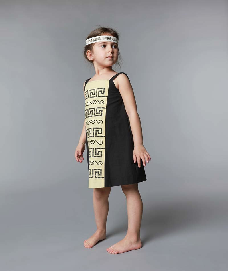 vestido infantil ecológico