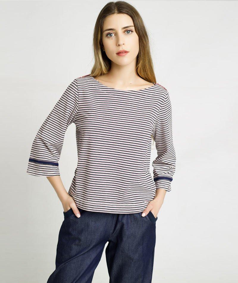camiseta-rayas irema slow fashion
