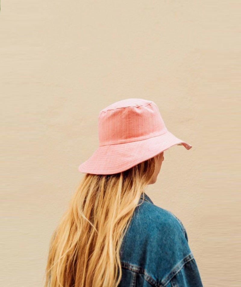 sombrero-tela-mallorquina-rosa