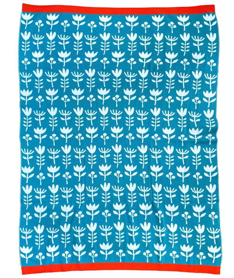 manta-azul-flores-algodon