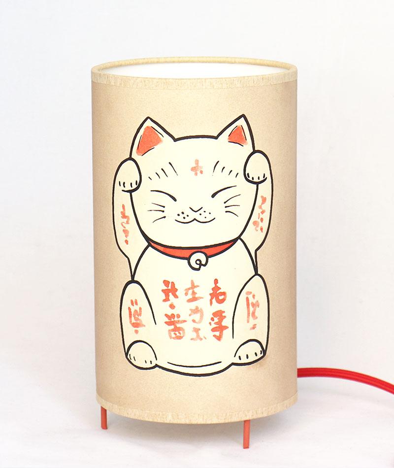 lampara-artesanal-maneki-neko