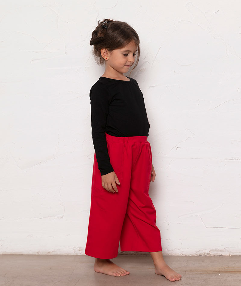 pantalon-rojo-nina-algodon-organico
