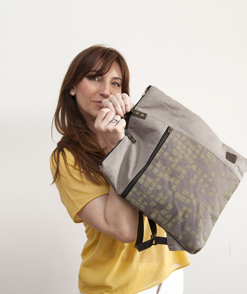 mochila algodón orgánico