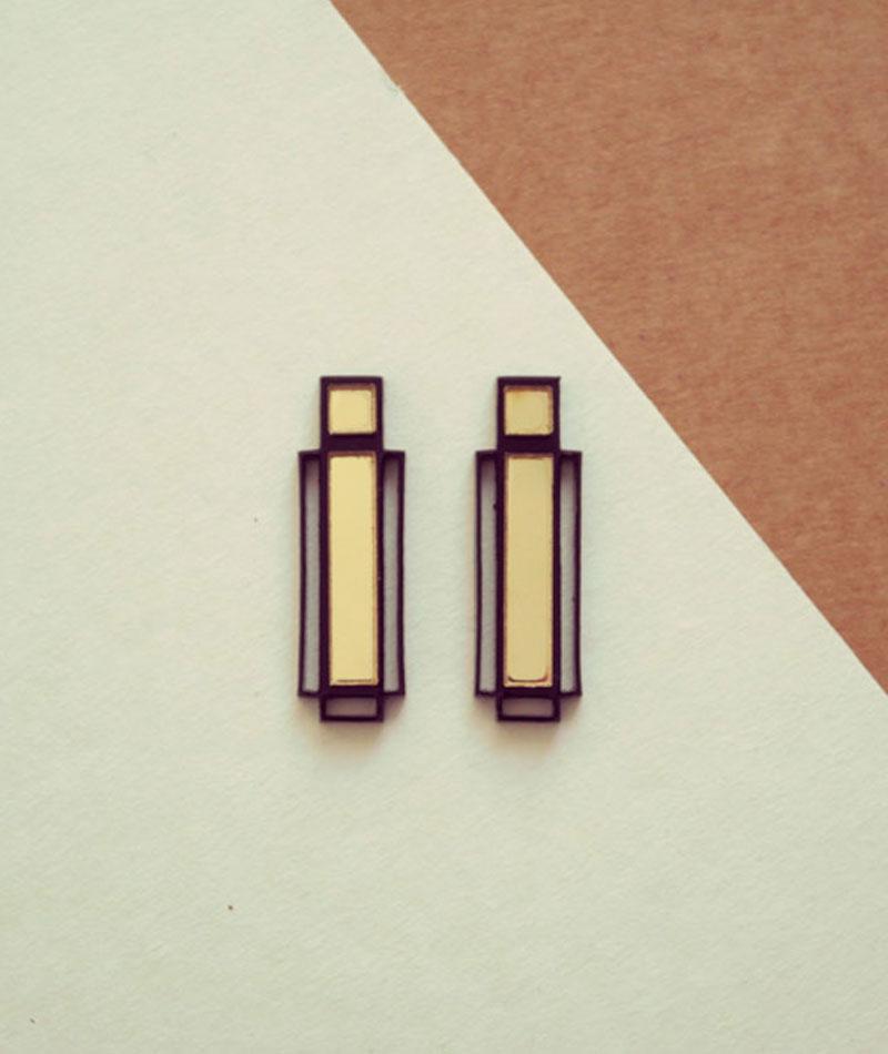 pendientes-paris-dorado-negro-geometricos