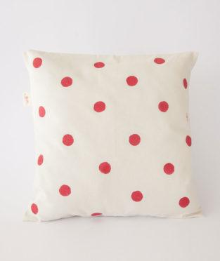 cojin-algodon-organico-lunares-rojos-estampado-manual-el-flamenc