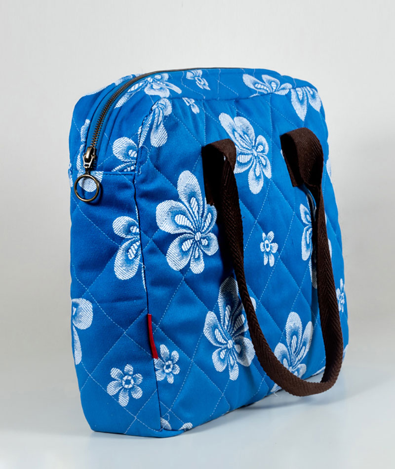 maletin-azul-flores-orientales-jaquard-vintage-perpetum