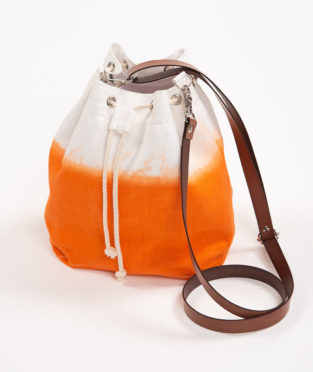 bombonera lino naranja