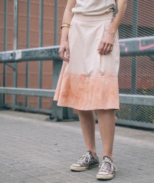 Falda algodón orgánico Art and Semas