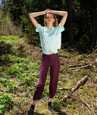 pantalón mujer algodón orgánico verano