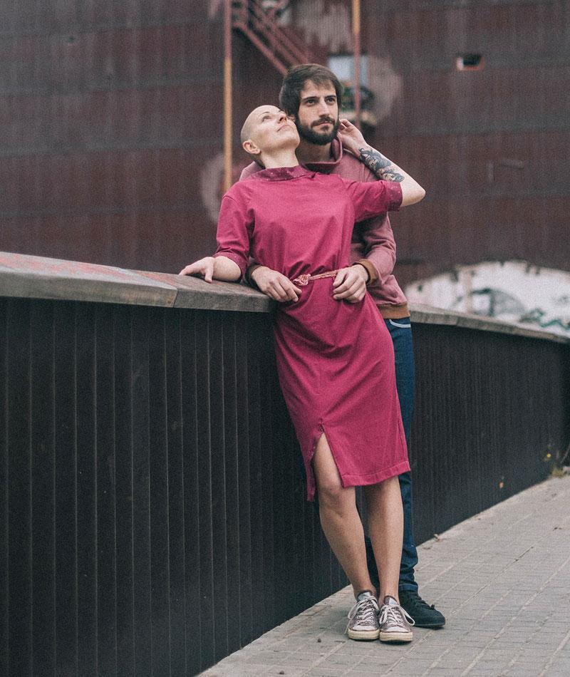 vestido algodón orgánico y de comercio justo the goood shop