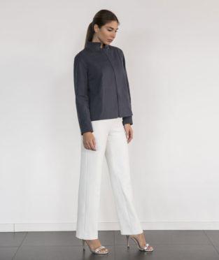 pantalón clásico blanco moda ética hecha en españa