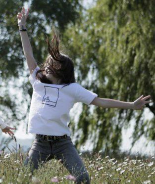 camiseta algodón orgánico serigrafia barquito