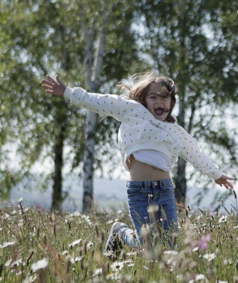 sudadera infantil de algodón orgánico