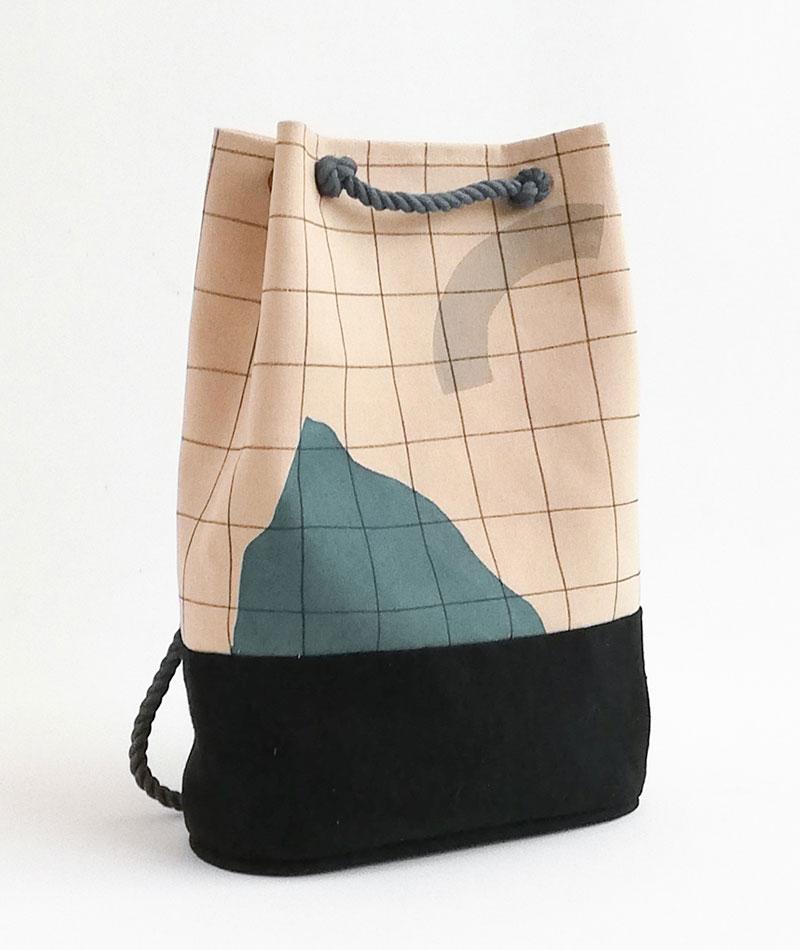 mochila de algodón hecha a mano en españa