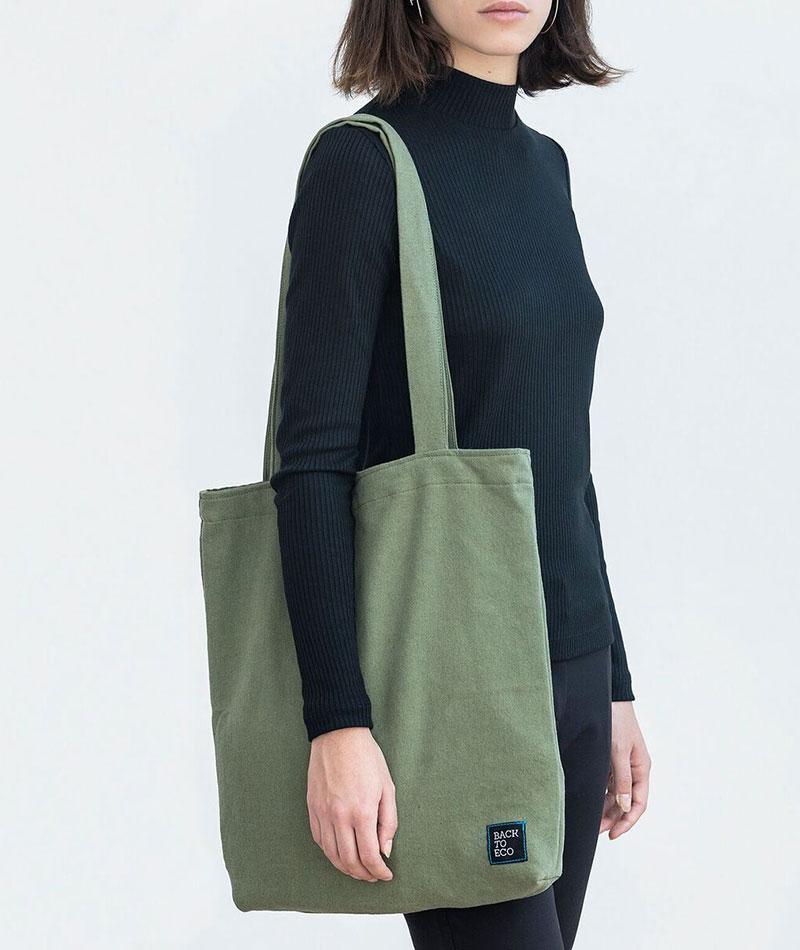 bolsa tote reciclada ecológica