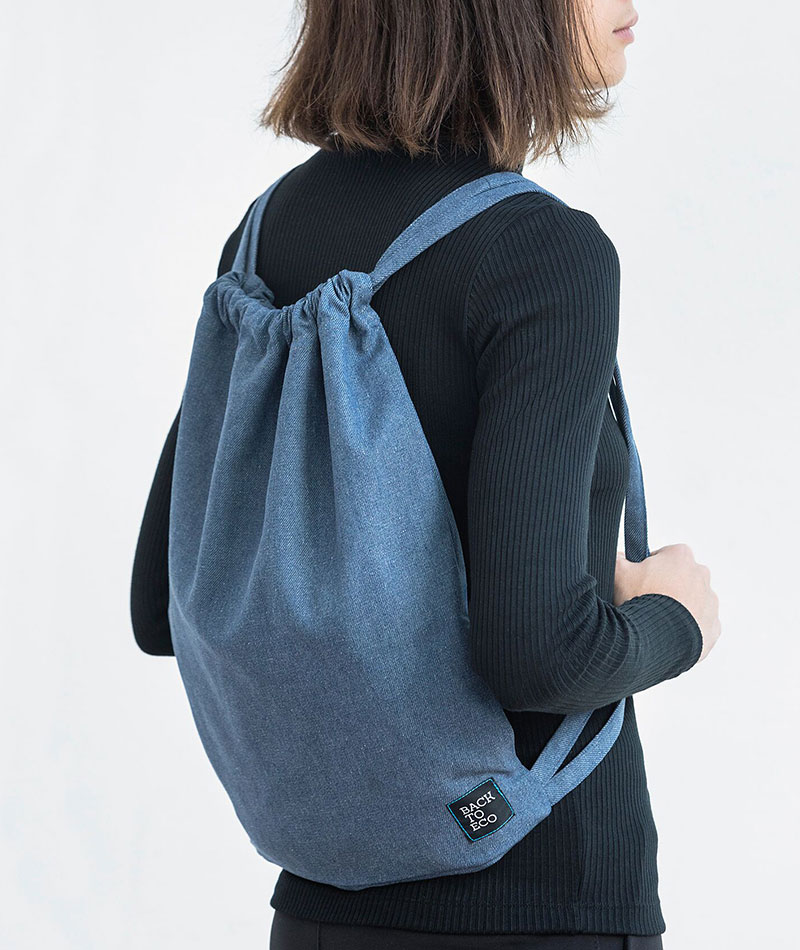 mochila easy infinit denim