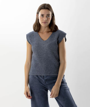 top reciclado infinit denim