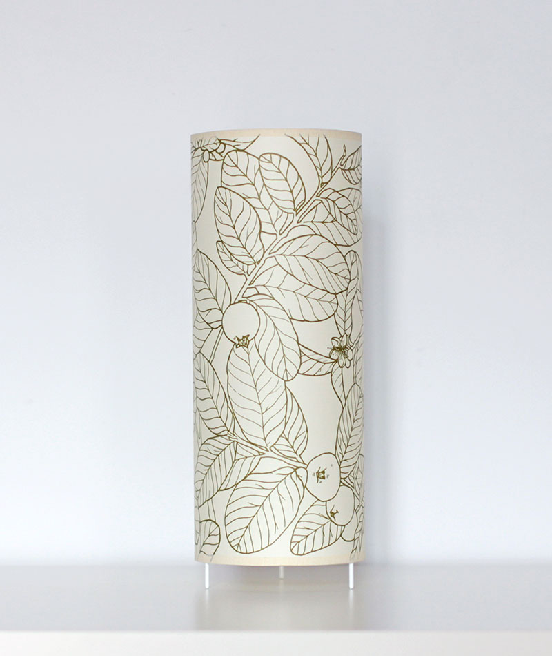 lampara de mesa serigrafia artesanal hecha en barcelona