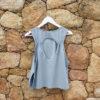 camiseta de yoga de algodón orgánico con certificado GOTS