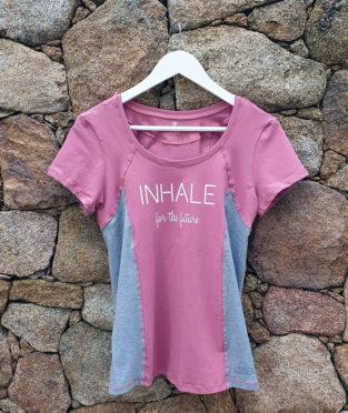 camiseta yoga algodón orgánico gots