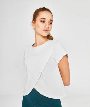 top deportivo algodón orgánico