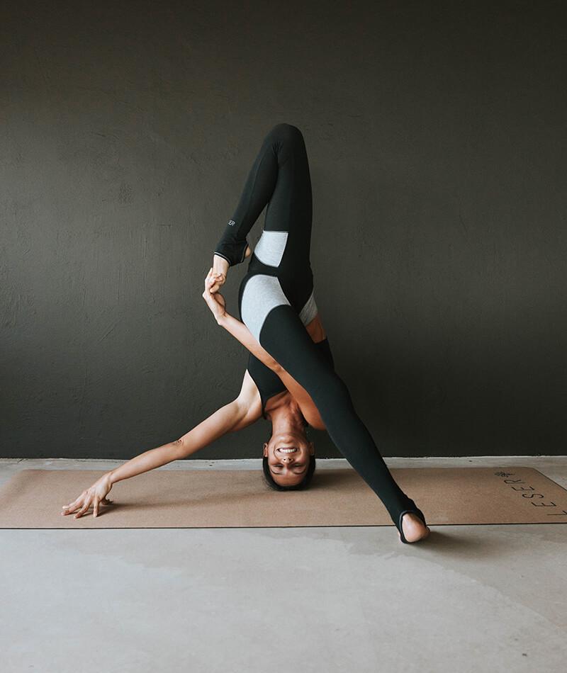 mayas de yoga ecológicas fabricadas en Barcelona