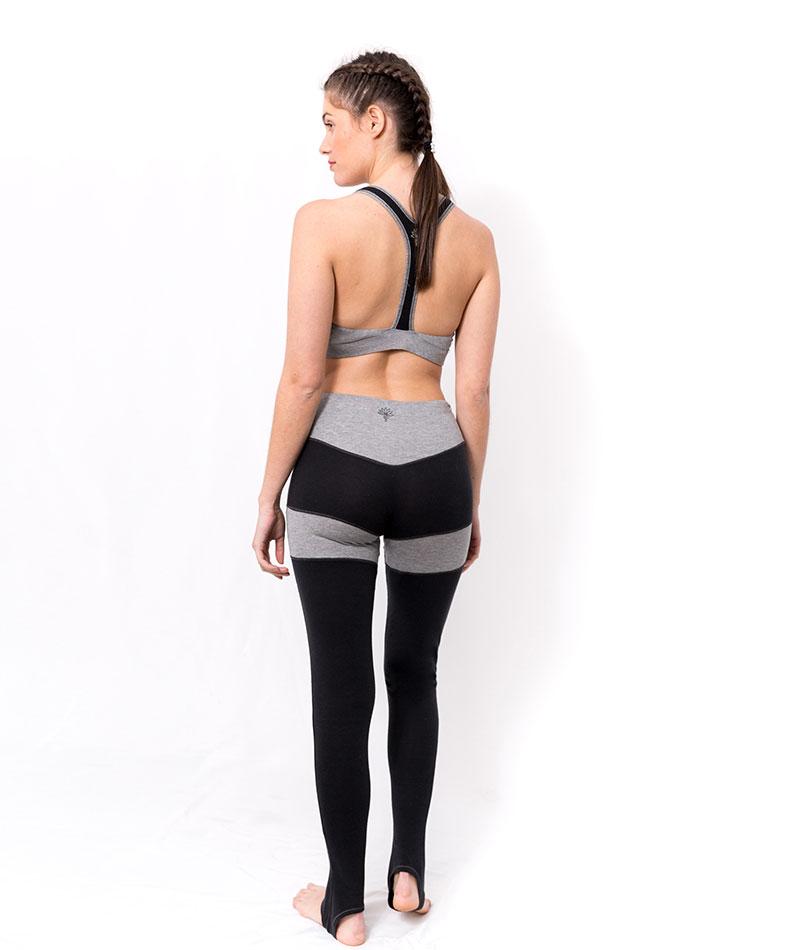 mallas de yoga de algodón ecofriendly
