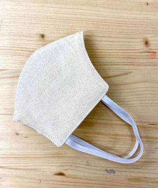mascarilla reutilizable de algodón con tejido homologado