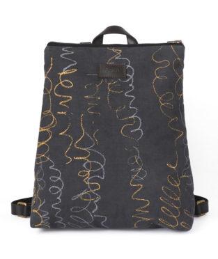 mochila de algodón orgánico