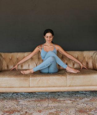 ropa de yoga sostenible fabricada en España