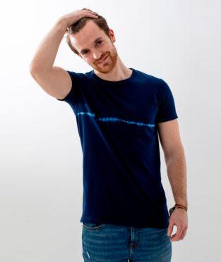 camiseta tie dye algodón orgánico