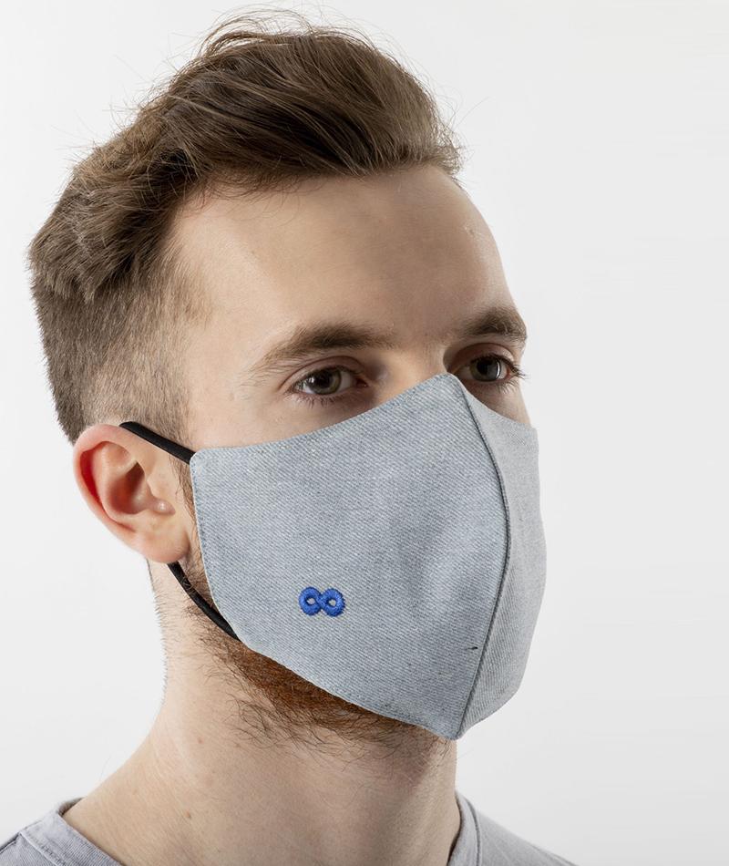 mascarillas higiénicas reutilizables infinit denim