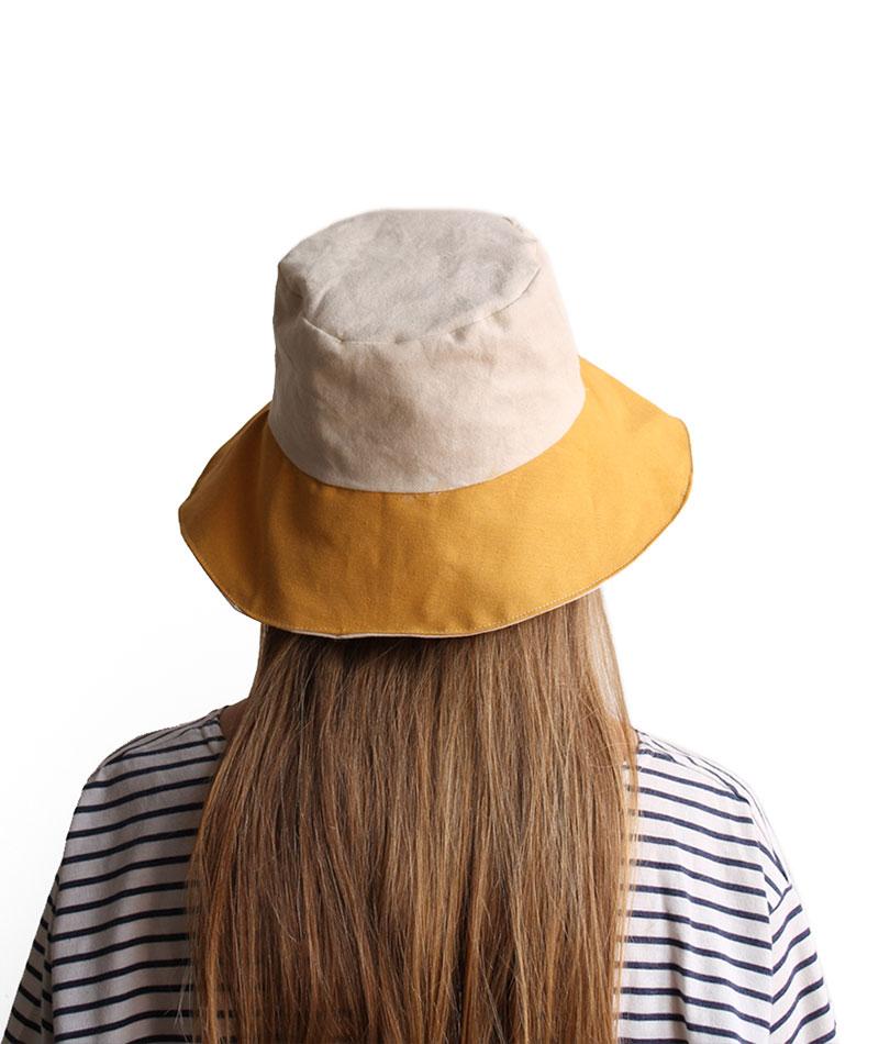 sombrero algodón ala ancha