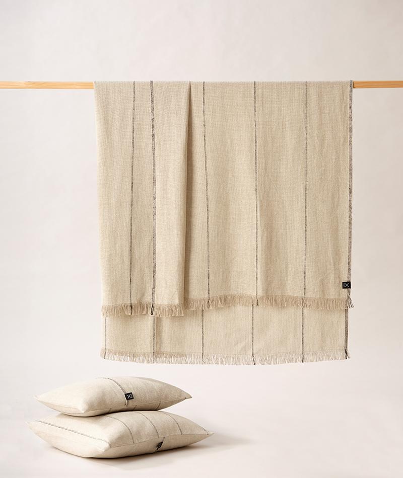 teixidors manta 100% lino europeo