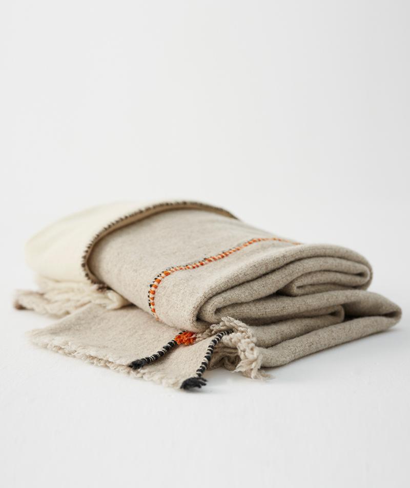 teixidors manta 100% lana merina Faye Toogood