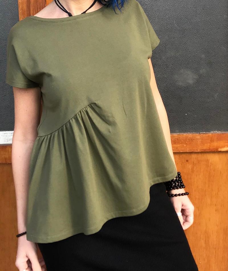 camiseta de algodón ecológico fabricada en España
