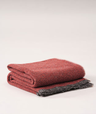 manta teixidors de lana merina y seda