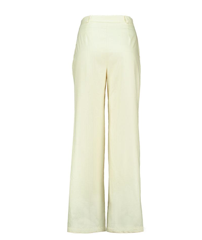 Pantalon De Mujer De Algodon Organico Estilo Palazzo The Goood Shop